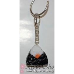 Onigiri key holder - Umeboshi