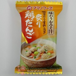 Premium Miso Soup - Tori Dango