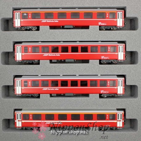 Albula Express - 4 Wagon Basis Set