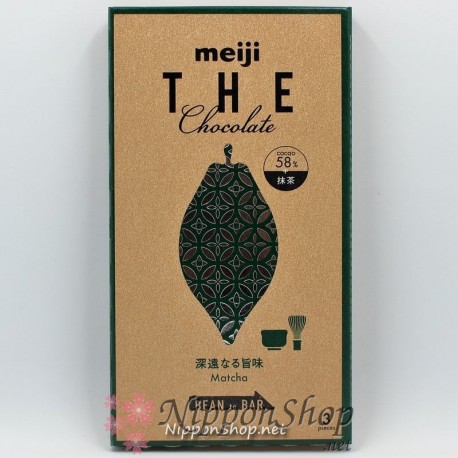Meiji THE Chocolate - Matcha