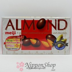 meiji ALMOND chocolates