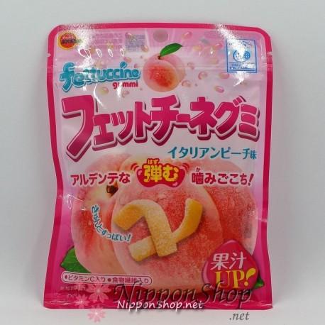 Fettuccine Gummi - Pfirsich