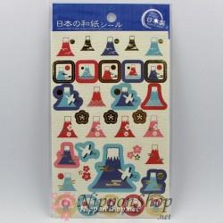 Washi Sticker - Mt. Fuji