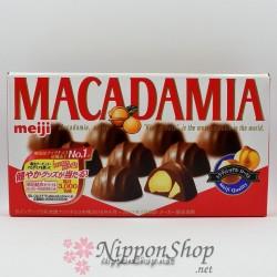 meiji MACADAMIA chocolates