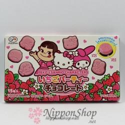 Erdbeere Party Schokolade