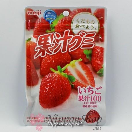 Meiji Soft Gummy - Erdbeere