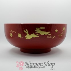 Japanische Schale - Rot