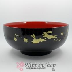 Japanische Schale - Schwarz