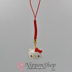 Mobile phone strap - Hello Kitty