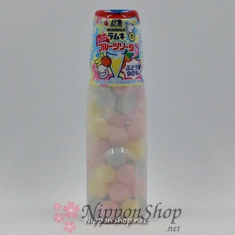Ramune Candy Tablets - Mix Fruit