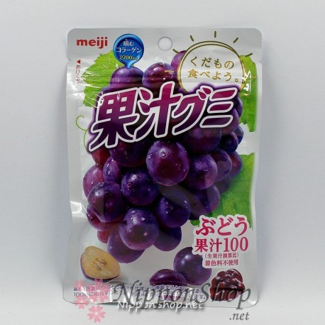 Meiji Soft Gummy - Traube