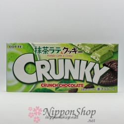 CRUNKY Matcha Latte & Cookie