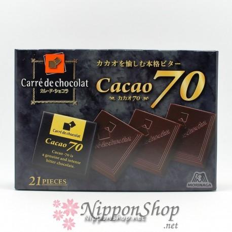 Carrè de chocolat - Cacao 70