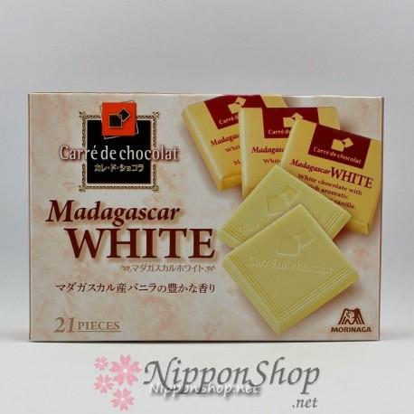 Carrè de chocolat - Madagascar White