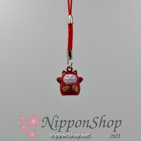 Mobile phone strap - Lucky Cat