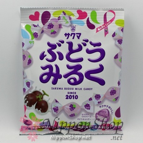 Sakuma Budo Milk Candy