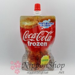 Coca Cola frozen - Lemon flavour