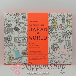 Colouring Map - JAPAN & WORLD