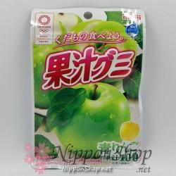 Meiji Kaju Gummy - Grüner Apfel