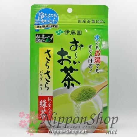 Japanischer Grüntee mit Matcha
