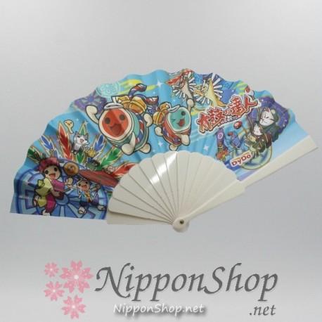 Taiko no Tatsujin - Fan blue