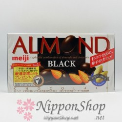 meiji ALMOND chocolates - BLACK