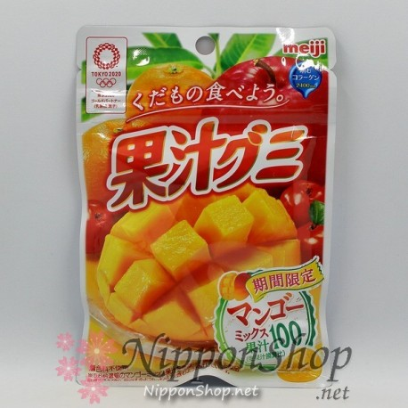 Meiji Soft Gummy - Mango
