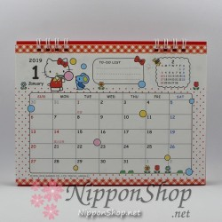 Hello Kitty Desktop Calendar 2019