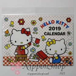Hello Kitty Calendar 2019