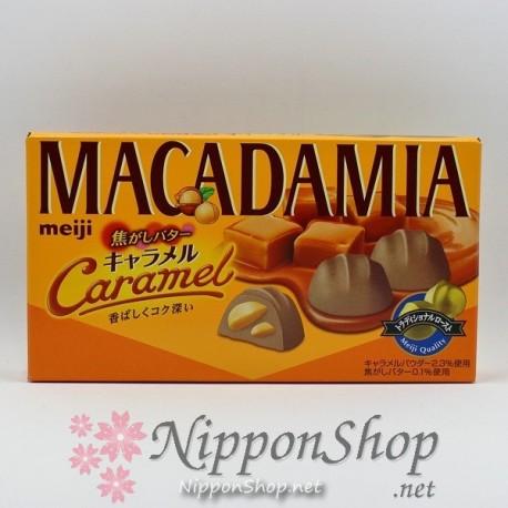 meiji MACADAMIA chocolates - Kogashi Butter Caramel