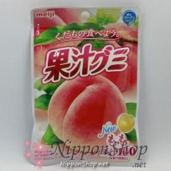 Meiji Soft Gummy - Pfirsich