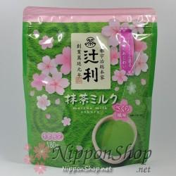 Matcha Milk Sakura