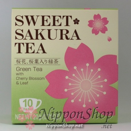 Sweet Sakura Ryokucha
