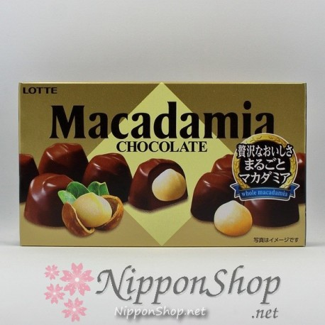 lotte MACADAMIA chocolates