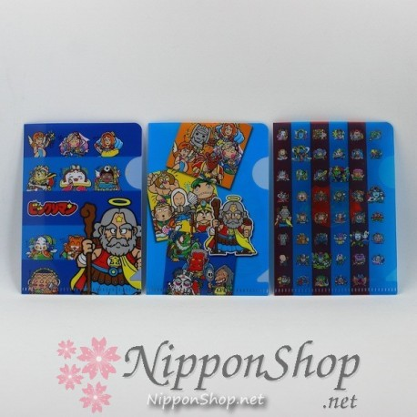Bikkuriman - mini clear files