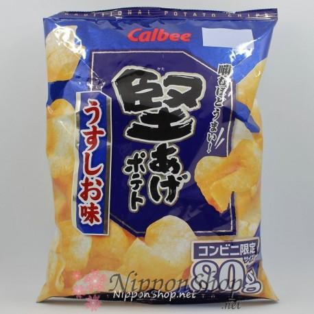 Calbee Kataage Potato Chips - Usushio