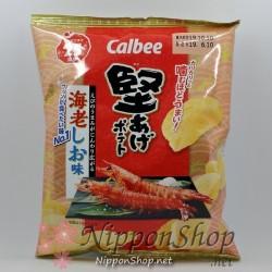 Calbee Kataage Potato Chips - Ebi Shio