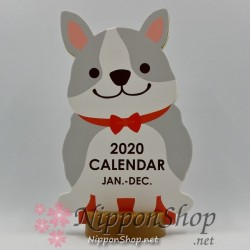Desktop Calendar 2020 - French Bulldog
