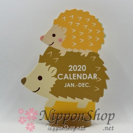 Desktop Calendar 2020 - Harinezumi