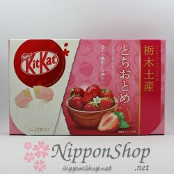 KitKat Regional Edition - Tochiotome Strawberry