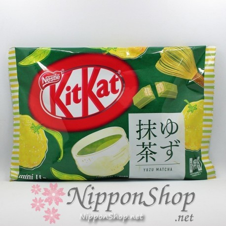 KitKat Yuzu Matcha