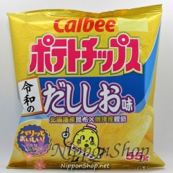Calbee Potato Chips - Dashi Shio