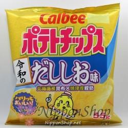 Calbee Potato Chips - Dashi Shio