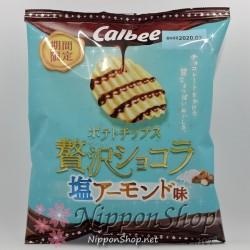 Calbee Zeitaku Chocolate - Shio Almond