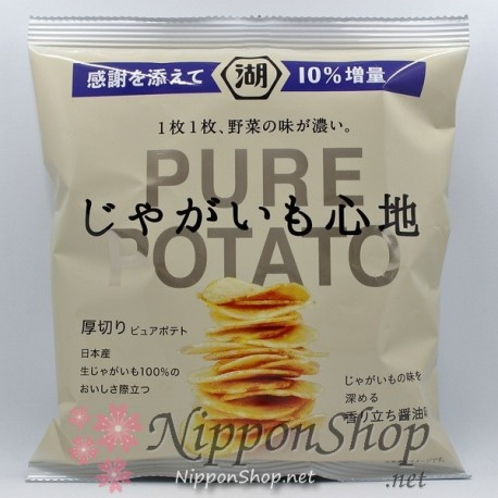 Koikeya PURE POTATO Chips - Shoyu