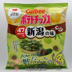 Calbee Regional Kartoffelchips - Niigata