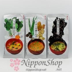 Instant Miso Soup - 3 flavour set