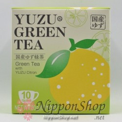Yuzu Citron Green Tea