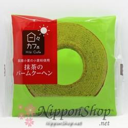 Hibi Cafe Matcha-Baumkuchen