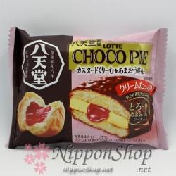Choco Pie Premium - Custard Cream & Amaou Ichigo